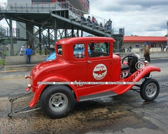 8 x 10'' Photo Of The Flying A Gasser