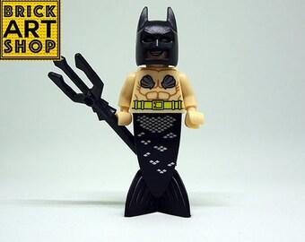 MerBat (lego compatible) Mini Figure Dc Comics Batman
