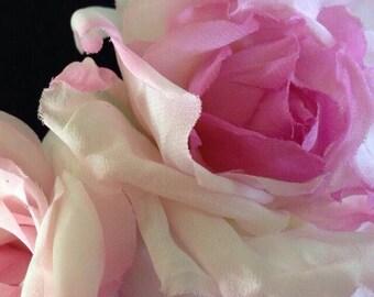 Decorative hair comb/wedding/wedding Hairstyle/silk roses/