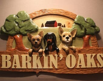 CUSTOM DOG SIGNS | Carved dogs | Vet Signs | Pet Boarding Signs | Pet carving | Pet Signs | Pet Memorials | Dog memorials | carved wood sign