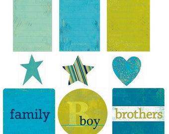 My MInd's eye creative cardmaking scrapbooking family 9 cuts