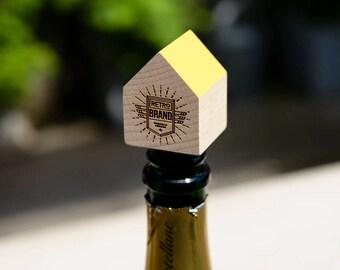 Personalised reusable bottle stopper, boyfriend gift, father gift, wine lover gift, custom gift