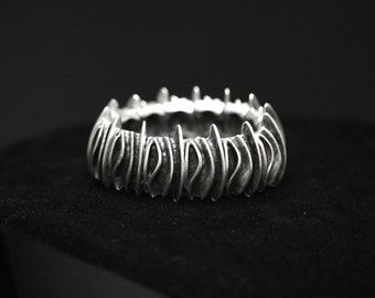 Antique Silver Plated Pewter Jewelry Bracelet 3034