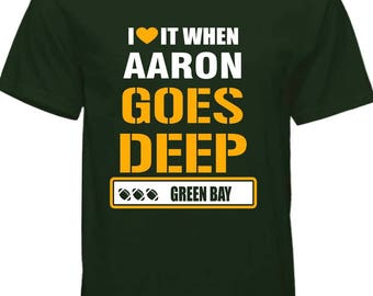 Green bay AAron Rodgers T-shirt !! free shipping