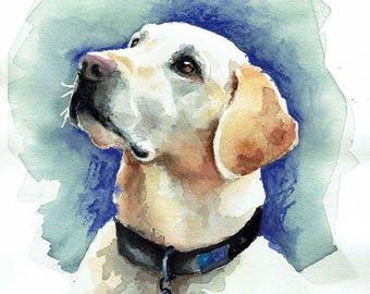 Custom Pet Portraits - Watercolor