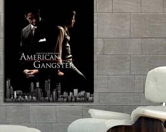 Poster Mural American Gangster printed on 8 Mil Paper #01