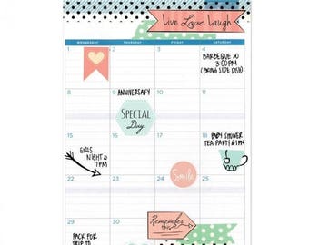 Fall Clearance: Sizzix Stickers - Planner Page Icons 661529