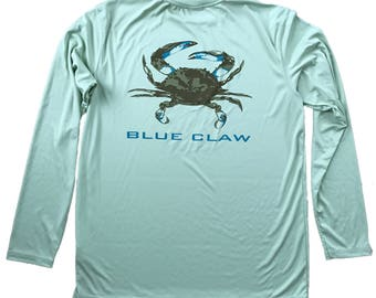 Blue Claw Performance Long Sleeve
