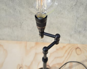 One-Off Design Swing Arm Pipe Lamp