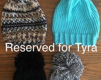 Tyra's baby hats