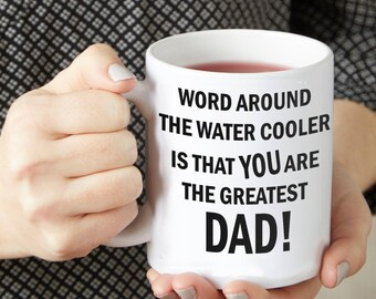 Funny Coffee Mug For Dad - Happy Father's Day - Father's Day Mug - Custom Coffee Mugs - Gift For Dad - Father Gift