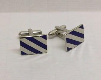 HADLEY  enamel cufflinks #164