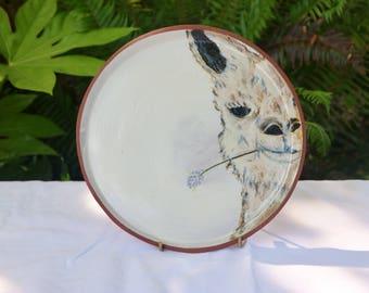 Alpaca Dinner Plate