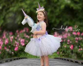 Unicorn Toy, Unicorn Party, Unicorn Hobby Horse, Stick Horse, Toy Horse, Unicorn Horn, Unicorn Birthday, Unicorn Gift, Unicorn Party Favors