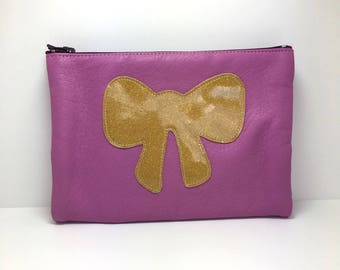 Wallet sale cyclamen leather for cards, coins and papers. * Instead of 32nd 24th *.