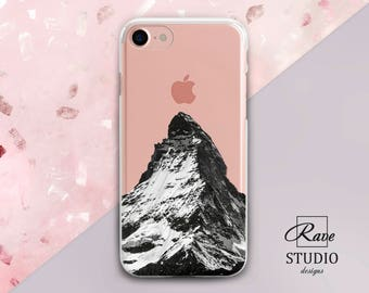 Mountain case iPhone7 iPhone6 iPhone case silicone iPhone8 Case for iPhone iPhone6s plus Mountain iPhone8plus case iPhones 7 plus case