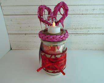 You Make my Heart Melt- Candle Holder Jar