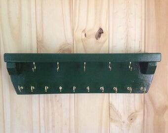 Wall Rack,jewelry display,jewelry holder,key holder,leash holder,necklace display,necklace holder,necklace organizer
