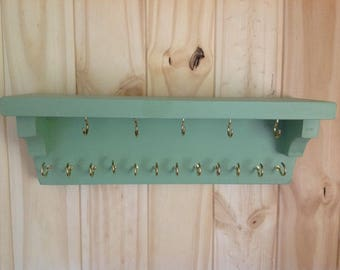 Wall rack,key holder,jewelry rack,leash holder,entryway wall rack,necklace rack/necklace holder/necklace storage