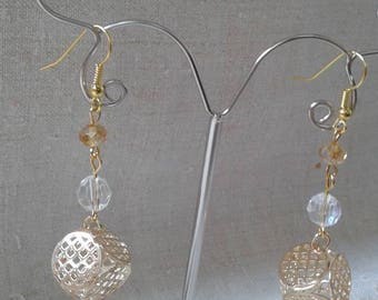 """of gold engraved"" earrings"