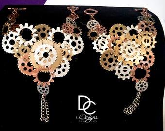 Steampunk Hand Bracelets