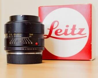 Leica R Summicron 35mm f/2 BOXED