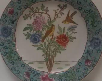 Family Rose Plate