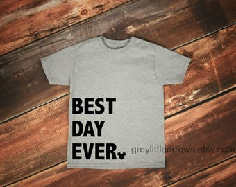 SALE! Best Day Ever Disney Tee, Family Disney Shirts, Boy Disney, Girl Disney, Baby Disney, Toddler Disney, Child, Mickey Mouse, Vacation