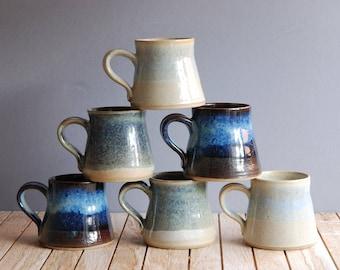 """Small """"espresso/tea"""" small mugs – stoneware ceramic"""