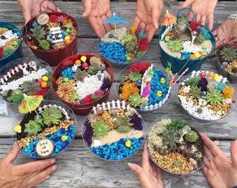 Fairy Garden Party Kit, Fairy Garden Kit, Fairy Garden Party, Fairy Garden  Kits
