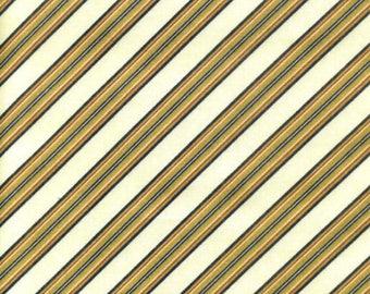 South Sea Imports fabric beige stripes fabric