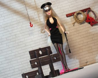 Barbie BDSM | Doll Dungeon furniture | Barbie BDSM furniture | BDSM Miniature | Mature | Dollhouse miniature | Doll sexy furniture| Mistress