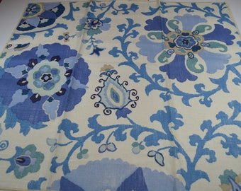 designer fabric, B Berger fabric, Linen, fabric sample, fabric remnant