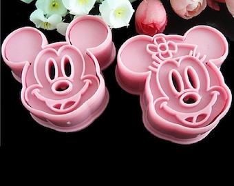 Minnie Cookie Mold Etsy