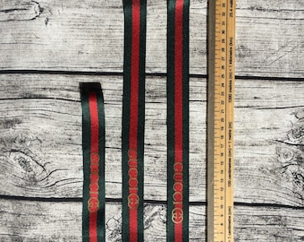 Key chain key ring fob lanyard red and green id holder