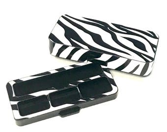 JUUL Vape travel case Zebra design