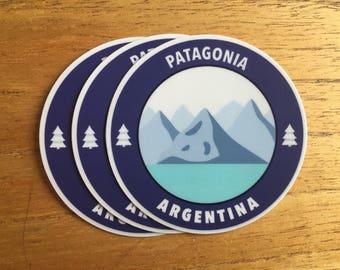 Patagonia Decal - Patagonia Vinyl Sticker - Patagonia - Laptop Sticker
