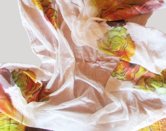 "Foulard ""Roses"" SC17106"