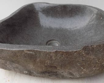 Sink in the river stone DP52 cm 50x38x15