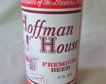 1970s Hoffman House Premium Beer Can Walter Brewing Co Pueblo CO Vintage Empty