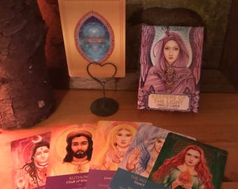 3 Card Oracle Reading The Keepers Of The Light Ascended Masters