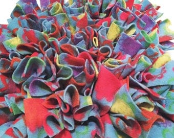 """Snuffle Mat 12"""" x 12"""" dog puzzle toy scent game slow feeder scent game pig rooting toy cat food toy"""
