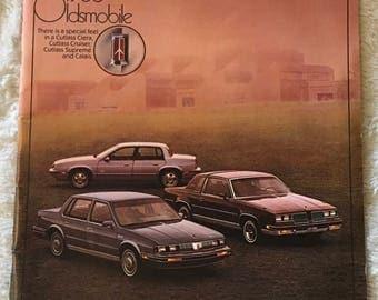 Oldsmobile 1986 Sales Brochure