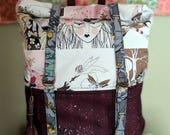 Ghastlie Purple Speckled Cork Atlas Rucksack Backpack