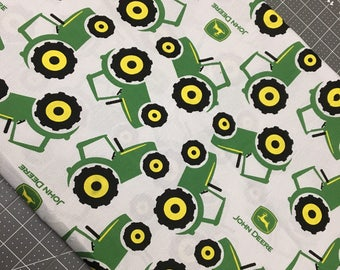 John Deere Fabric, John Deere Fabric by the yard, Tractor Fabric, Farm Fabric,  Sewing and Crafting Supplies, Fabric by the yard, Quilting