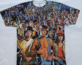 The Warriors sublimation T shirt