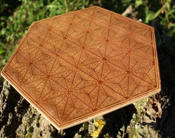 Cube Phase - Geometric Crystal Grid