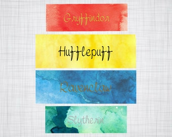Harry Potter Laminated Bookmarks