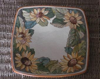 Square Plate cm 28x 28