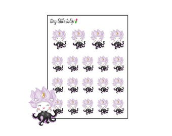"Planner Stickers Unicorn ""Ursula"""